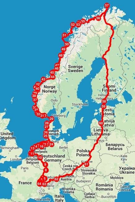 itinéraire - via4chemins