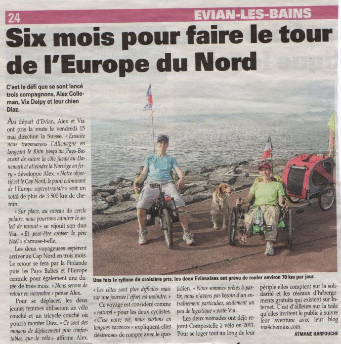 via4chemins - article messager