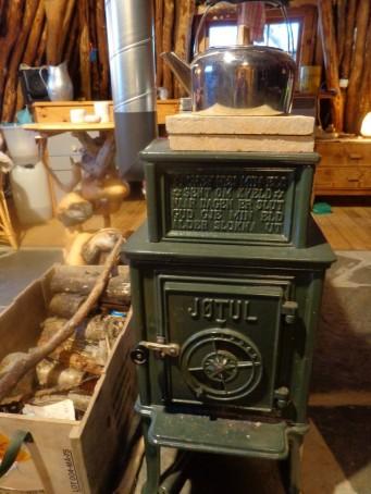 Magnifique poêle Jotul / our magnificient Jotul stove