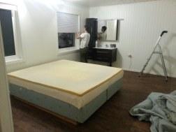 La chambre presque finie