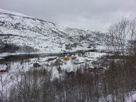 Le petit hameau de Sundsfjord