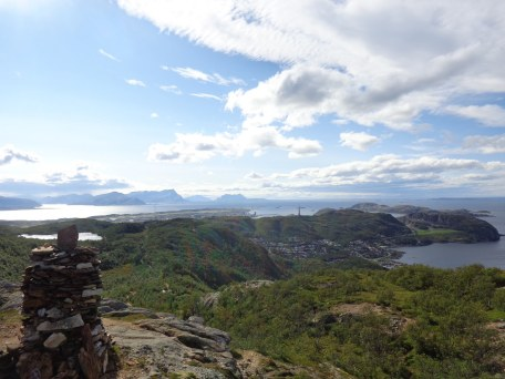 Vue depuis Bodø marka
