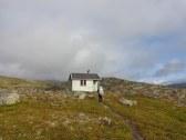 Les huttes sont très isolées